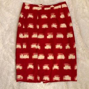 Corey Lynn Calter linen pencil skirt 6